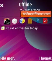Aria Of Colors (GX) es el tema de pantalla