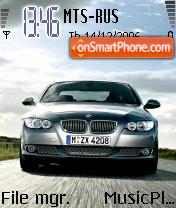 BMW 3 Series E92 theme screenshot