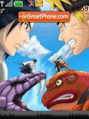 Naruto VS Saske tema screenshot