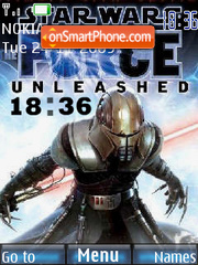 The force Unleashed theme screenshot