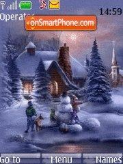 Скриншот темы Winter Holiday