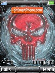 Punisher Skull es el tema de pantalla