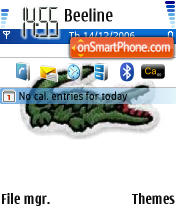 Lacoste theme screenshot