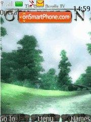 Oblivion tema screenshot