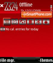 Luvred theme screenshot