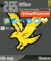 Golden Eagle theme screenshot