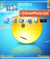 Скриншот темы Aqua Cool