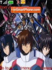 Anime theme theme screenshot