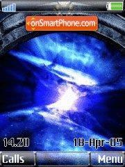 Space tema screenshot