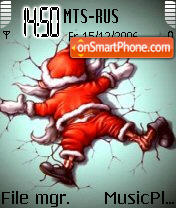 B Natale theme screenshot