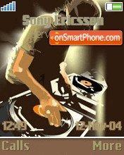DJ es el tema de pantalla