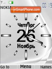 Swf clock gray theme screenshot
