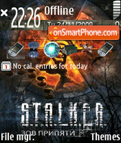 Stalker 17 theme screenshot