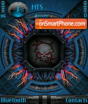 Скриншот темы Dark Skull