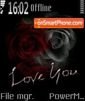 I Love U 03 theme screenshot