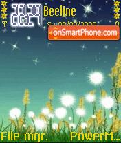 Night Scenery theme screenshot