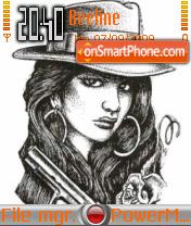 Gangster Girl es el tema de pantalla