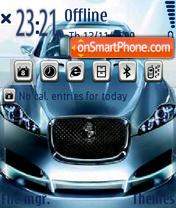 Blue Car 01 es el tema de pantalla