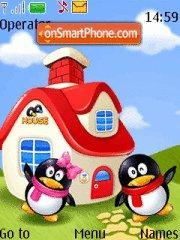 Pinguins theme screenshot