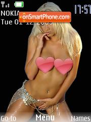 Sexy boobs theme screenshot
