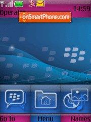Precision BLackberry theme screenshot