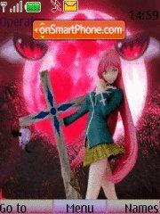 Rosario+vampire theme screenshot