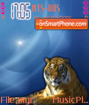 Tiger 02 es el tema de pantalla