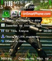 Crysis by Altvic theme screenshot