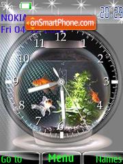 Aquarium SWF theme screenshot