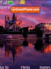 Notre-Dame de Paris tema screenshot