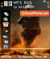 Call of duty modern warfare 2 by altvic es el tema de pantalla