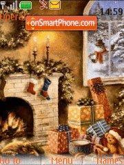 Winters Holidays theme screenshot