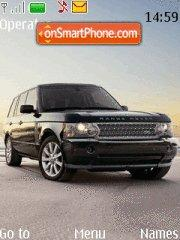 Land Rover Sport theme screenshot
