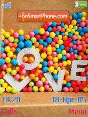 Candy Love es el tema de pantalla