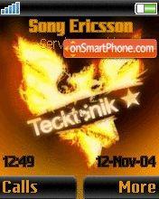 Tecktonik es el tema de pantalla