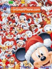Disney Christmas theme screenshot