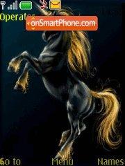 Скриншот темы Black Unicorn
