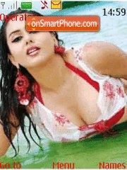 Hot Namitah es el tema de pantalla