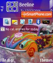 Cool Bug theme screenshot