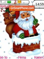 Santa Claus tema screenshot