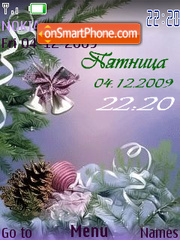 Christmas bells flash 1.1 tema screenshot