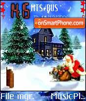 Merry Chirstmas 4 theme screenshot