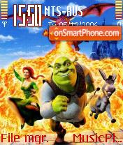 Shrek2 theme screenshot