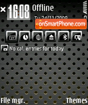 Warez theme screenshot