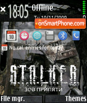 Capture d'écran Stalker-cop2 thème