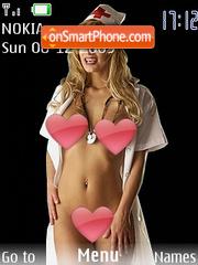 Sexy Nurse theme screenshot