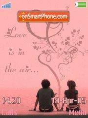 Love Is in The Air es el tema de pantalla
