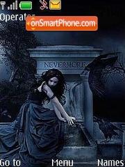 Nevermore tema screenshot