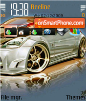 350z 03 theme screenshot