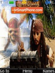 Pirates of the Carribean theme screenshot